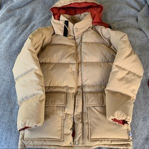 Penfield down/feather puffer coat